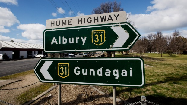 Driving the Hume Highway from Sydney to Melbourne: Hume rules