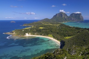 Spectacular: Lord Howe Island as seen from Malabar Hill.