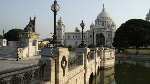 Victoria Memorial, Kolkata, West Bengal, India.
