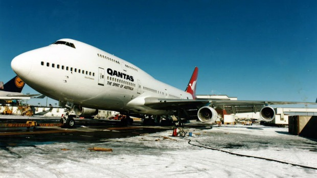 Woolongong bound: City of Canberra set a record in 1989 for flying non-stop from London to Sydney.