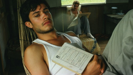 Gael Garcia Bernal in <i>The Motorcycle Diaries</i>.