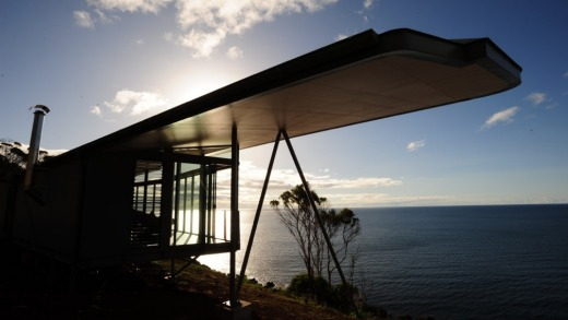 Architectural joy: The Winged House at Table Cape.