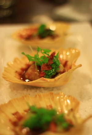 Oh yes: Lost farm scallops.