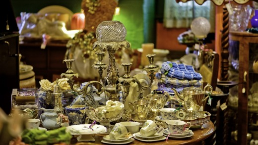 Bygone Beautys in Leura is packed with treasures.