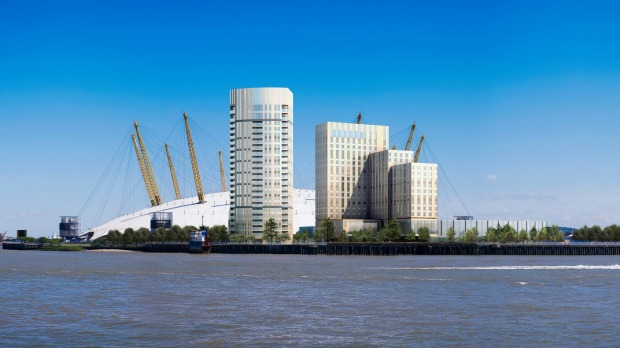Intercontinental London The O2: The piece de resistance of this 452-room hotel will be a sky bar with 180-degree views ...