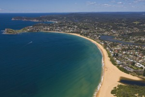The sweeping Terrigal Beach is spectacular.