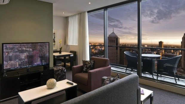 No.4. Meriton Serviced Apartments Campbell Street, Sydney, New South Wales.