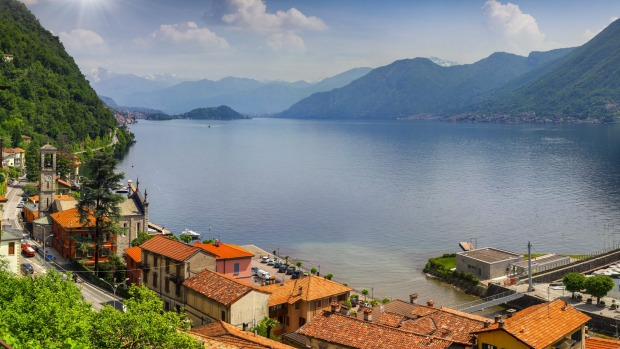 The view from Argegno.