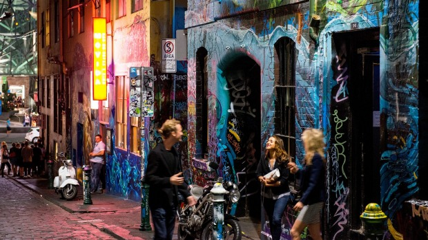 Hosier Lane: This sloping alley set with rough bluestone paving stones is the epicentre of Melbourne's street art scene.