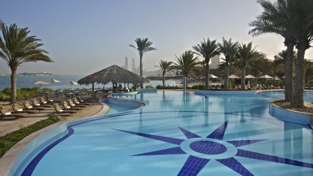 The Hilton Abu Dhabi is the favourite haunt for ex-pats.