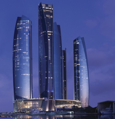 Great views are the selling point at Jumeirah at Etihad Towers.