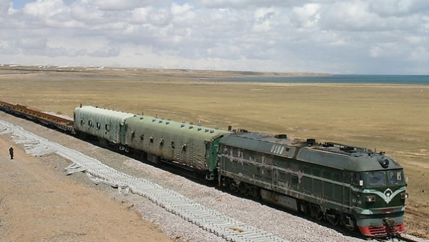 THE HIGHEST RAILWAY IN THE WORLD: For a century or more, the highest railways in the world were to be found in the ...