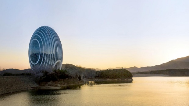 Architectural wonder: the Sunrise Kempinksi is soon to open in China.