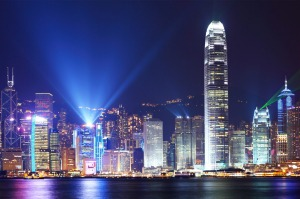 Visual spectacular: The Symphony of Lights show over Victoria Harbor every night is a feast for the senses.