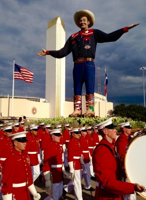 Super-sized cowboy Big Tex.