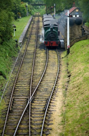 THE OLDEST TRAIN JOURNEY IN THE WORLD: It should be the Stockton to Darlington railway in North East England where ...