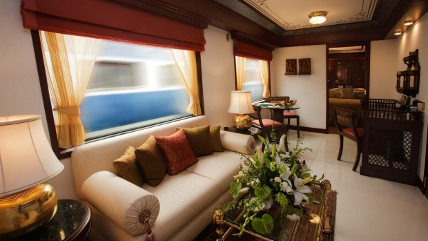 The Maharajas' Express can cost up to $3385 per night, per passenger. Of course, you can have much the same experience ...