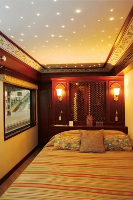 The Maharajas' Express can cost $3385 per night, per passenger. Of course, you can have much the same experience for ...
