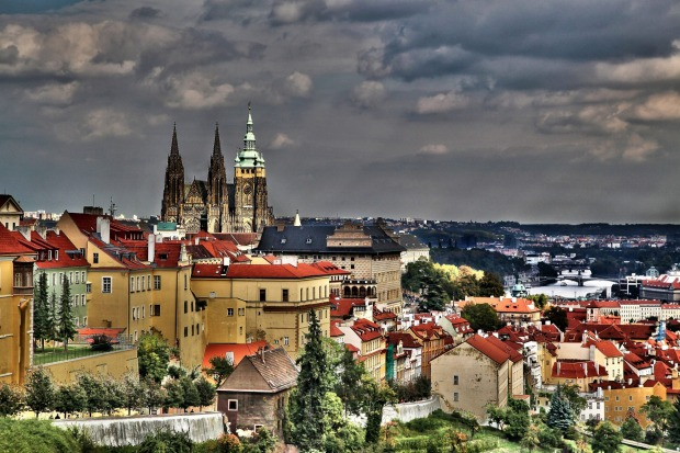 10 PRAGUE CASTLE, PRAGUE, CZECH REPUBLIC. This vast sprawl of buildings, museums and courtyards looms above the old town ...