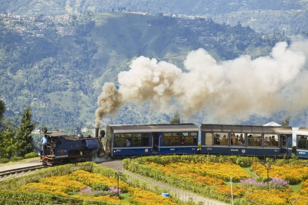 TOY TRAIN, DARJEELING, INDIA: The essential Darjeeling experience, this narrow-gauge railway is one of the engineering ...