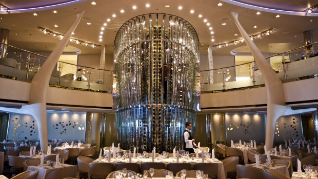 Glamour: the Grand Epernay main dining room.