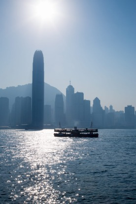 STAR FERRY, HONG KONG: Not the most practical nor the fastest way to travel between Kowloon and Hong Kong Island, but ...
