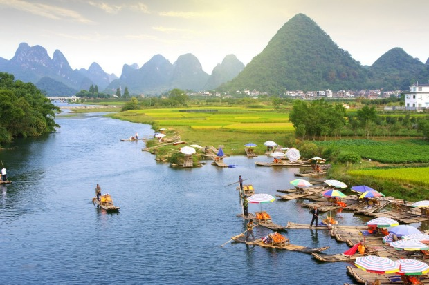 View over Guilin.