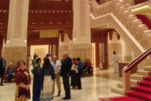 Well suited: Royal Opera House in Muscat.