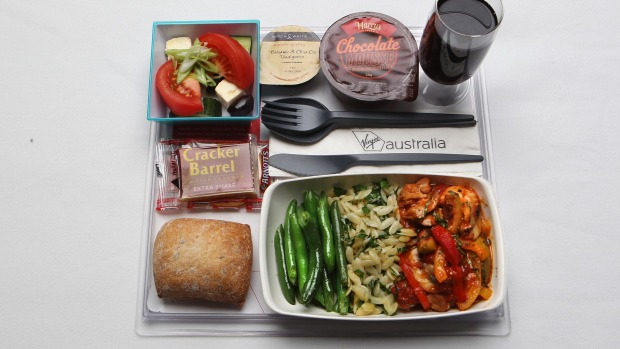 It's cheaper for airlines to use light plastic cutlery and cups.