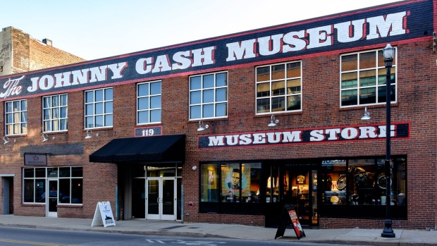 The Johnny Cash Museum in Nashville, Tennessee.