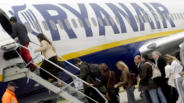 Passengers were outraged when Ryanair offered buses to take them the 770km distance in freezing weather.