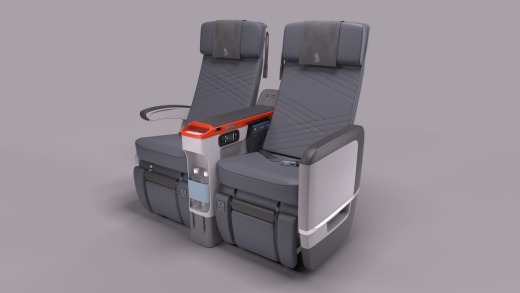 Seats will feature a 38 inch seat pitch and a width of between 18.5 to 19.5 inches, including an 8 inch recline.