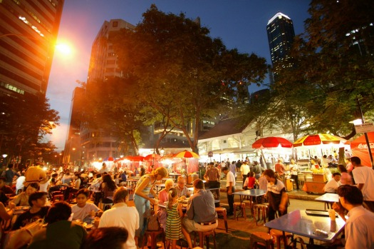 Oodles for noodles:  Singapore is a city utterly bonkers about food.