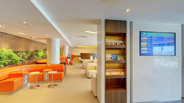 Skyteam Lounge Sydney Serene Skyteam Lounge at