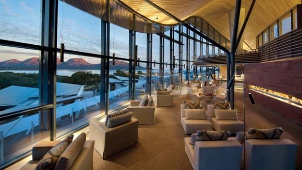 Saffire Freycinet offers sweeping views of Great Oyster Bay and the Hazards Mountains and features 20 suites, spa ...