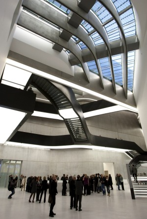 Maxxi Museum: The most talked-about new building in the city.