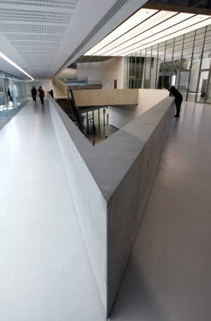 Maxxi museum: Located in Rome's Flaminio, the museum was built on the grounds of a former military barracks in a ...
