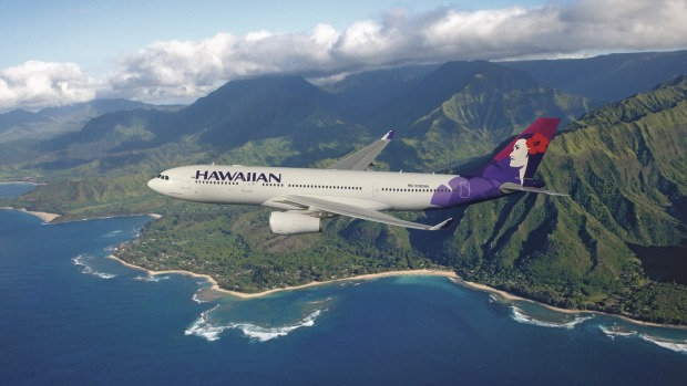 Well worth the price: Hawaiian Airlines.