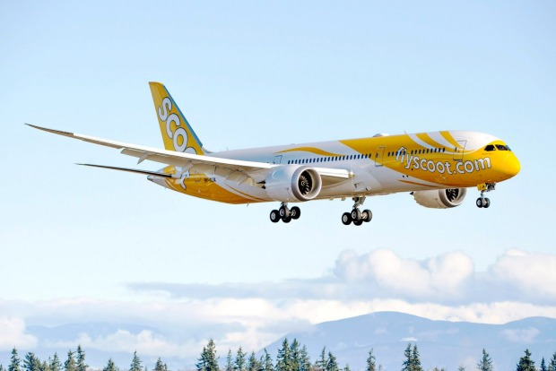 Scoot takes off from Seattle.