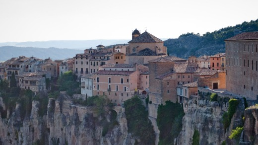 Heritage haven: Cuenca old town.