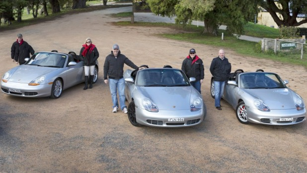 On tour: Instructors are on hand to help us get to know our Porsche.