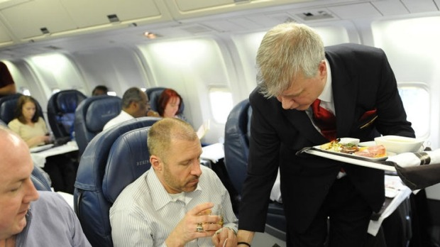 A flight attendant has invented a drink called Jack and Joe, which is now being served on Delta flights.