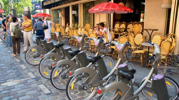 VELIB AND BIKE RENTAL: Paris's cycle-friendly mayor Anne Hidalgo wants to ban most cars from the city centre, which ...