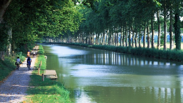 CANAL BIKE PATHS: The trendy, tree-lined 4.5-kilometre Canal St-Martin, with its charming locks and swing bridges, is a ...