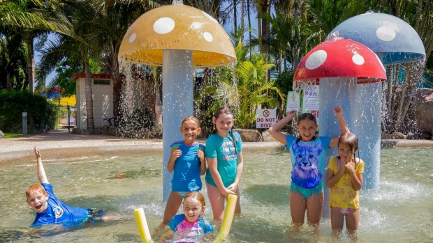 Child's play at the Big 4 Adventure Whitsunday Resort in  Airlie Beach.