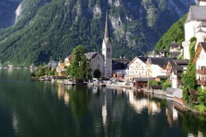 Hallstatt is  possibly the oldest continuously inhabited village in Europe.