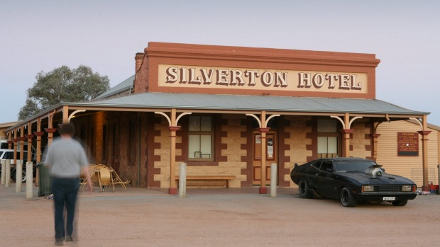 The Silverton Hotel, a popular stop in this historic mining town.