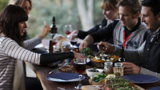 Guests will enjoy the finest local fare and leading regional wines at the Tastes of Rutherglen.