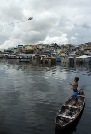 Manaus, Brazil: Manaus, which sits in the jungle at the muddy, swirling confluence where the Amazon and Negro rivers ...