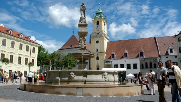 Bratislava, Slovakia: Given that it's sandwiched between Vienna and Budapest on the Danube River, Bratislava has none of ...